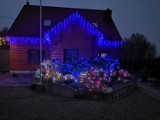 Cudowny blask tysięcy kolorowych lampek rozświetli Łęg Tarnowski. Państwo Tarkowscy już się przygotowują do Magii Świąt [ZDJĘCIA]