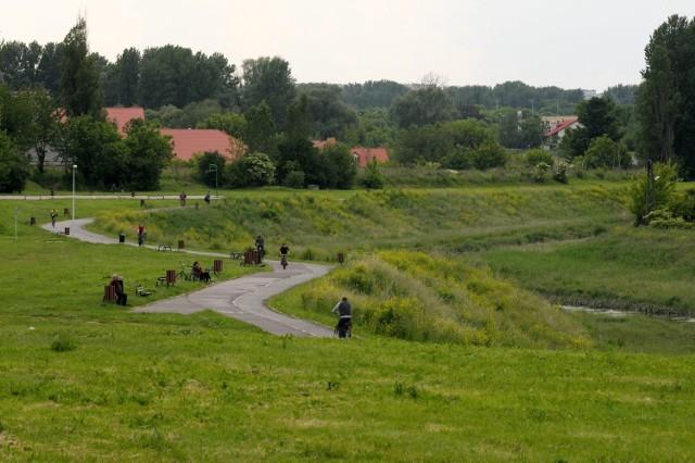 Rzeka Bystrzyca w Lublinie (zdjęcie ilustracyjne)