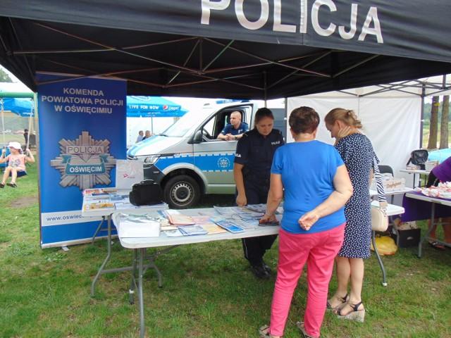 Policjanci promowali bezpieczeństwo podczas charytatywnego pikniku