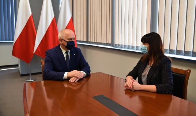 Rozmowa odbyła się w środę (10 marca).