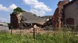 Siemianowice Śląskie: Zawalił się budynek gospodarczy. Ratownicy przeszukują gruzowisko