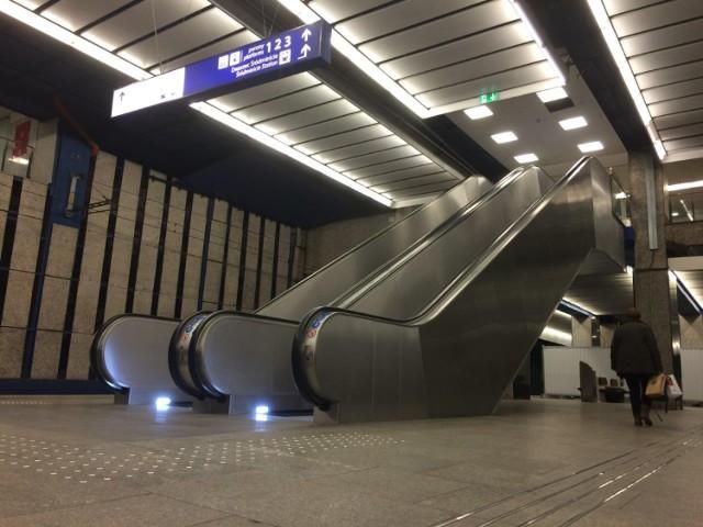 nowe schody na dworcu centralnym