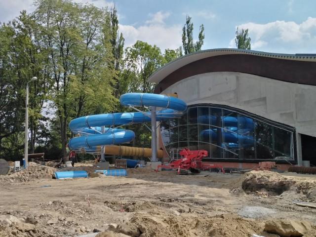 Budowa basenu w Brynowie