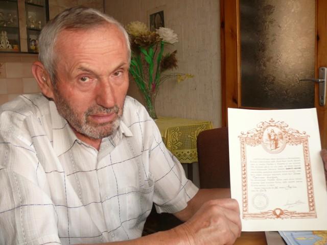 Szlak św. Jakuba zdobyty. 66-letni Henryk Łuczak z Chraplewa potrzebował 3 tygodni by pieszo przejść blisko 900-kilometrowy szlak św. Jakuba. Zaczynał od pielgrzymek do Częstochowy, w których regularnie uczestniczy od 9 lat.