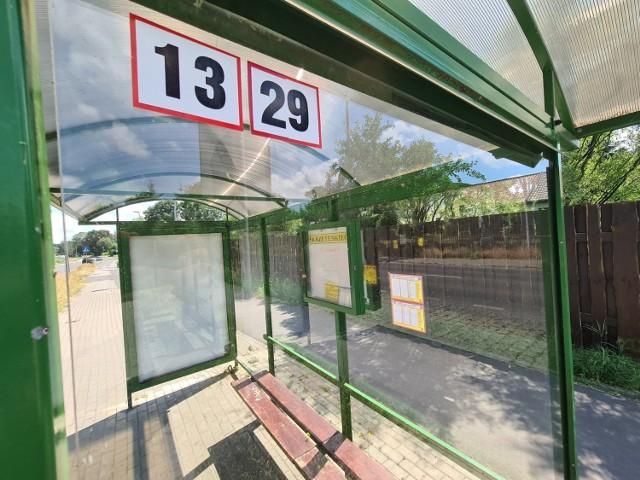 Przystanek autobusowy na Rudaku
