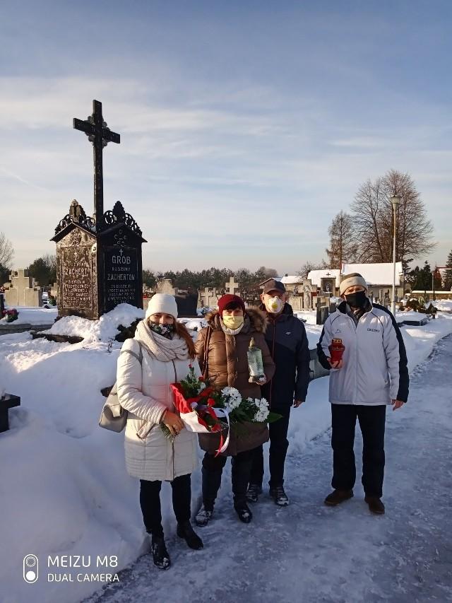 22 stycznia także w Zawierciu złożono hołd zasłużonym w Powstaniu Styczniowym - w dniu 158. rocznicy jego wybuchu.