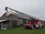 Radomsko/powiat: Strażacy usuwali skutki burzy i silnego wiatru