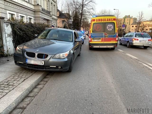 Piesza potrącona przez kierowcę bmw na przejściu na ul. Piastowskiej w Opolu