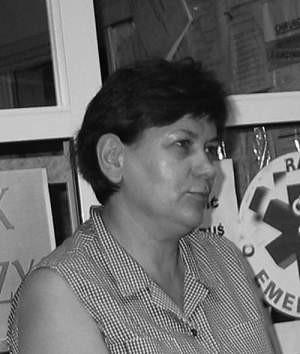 Ewa Boryka, neurolog i członkini Związku Zawodowego Lekarzy ze Szpitala Specjalistycznego im. Sz. Starkiewicza w Dąbrowie Górniczej.