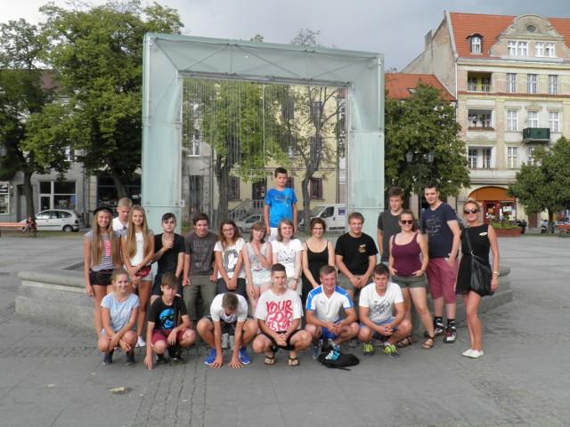 Młodzież mieszkała w Chełmnie i między innymi to miasto zwiedziła podczas swojego pobytu