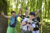 Rodzinna gra terenowa i seans kina plenerowego w Świeciu. Zobacz zdjęcia