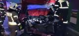 Paskudny wypadek na A4 pod Chojnowem. To cud, że kierowcy nic się nie stało!