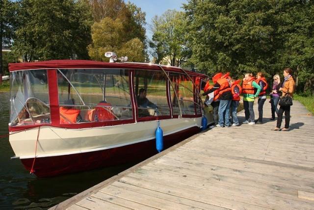 Rejs łodzią z przeszklonym dnem to nagroda główna w konkursie WPN