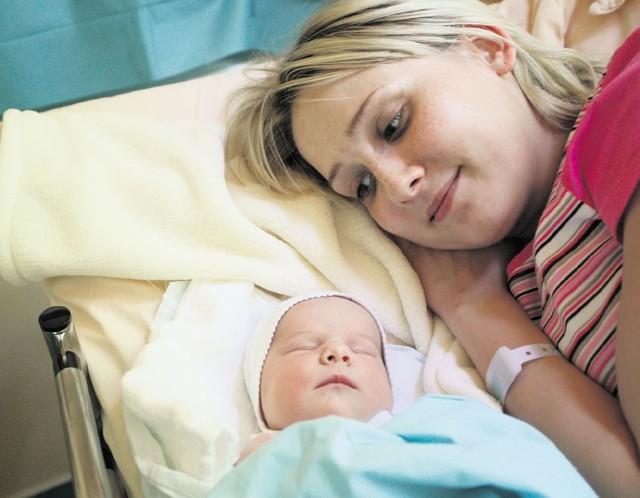 Monika Siurtek urodziła Oliwię o trzeciej w nocy