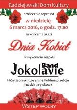 Koncert z okazji Dnia Kobiet w Radziejowie 6.03.2016