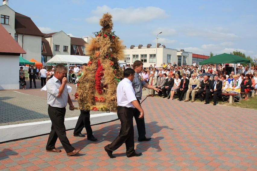 Dożynki gminno parafialne w Siedliszczu ZDJĘCIA