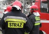 Pożar w Rydułtowach. Płonął budynek przy ulicy Raciborskiej