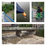 Ulewy w Beskidach. W tych miejscowościach spadło najwięcej wody! [ZOBACZ, GDZIE PADŁ REKORD]