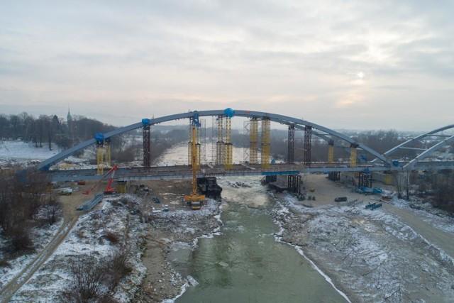 Nowy most heleński w budowie. Zobacz zdjęcia z lotu ptaka