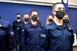 Nowi funkcjonariusze w podlaskim garnizonie Policji [Zdjęcia]