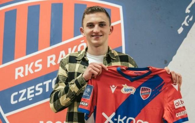 Wiktor Długosz został nowym zawodnikiem Rakowa Częstochowa