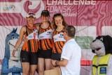 Dekoarcje zwycięzców kategorii wiekowych podczas sobotnich zawodów Lotto Challenge Gdańsk 2021 ZDJĘCIA
