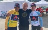 Kaliszanin Marek Sawicki jest masażystą mistrza olimpijskiego w kolarstwie Richarda Carapaza! ZDJĘCIA