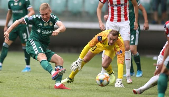 Śląsk Wrocław pokonał Cracovię 2:1