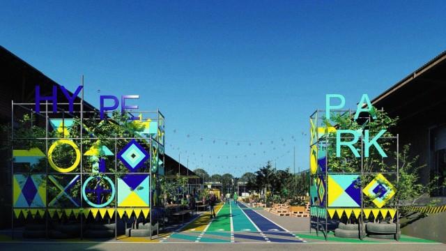 Wizualizacje Hype Parku