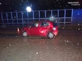 Wypadek w Wieszowie na A1. Jedna osoba została przewieziona do szpitala