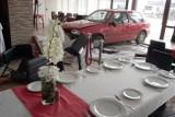 Pijany kierowca wjechał w restaurację w Łodzi. Wypadek przy Szczecińskiej [ZDJĘCIA]