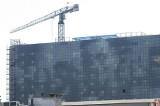 Szklana elewacja hotelu DoubleTree by Hilton w Łodzi
