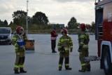 Strażacy ochotnicy z powiatu skierniewickiego szkolą się w Skierniewicach