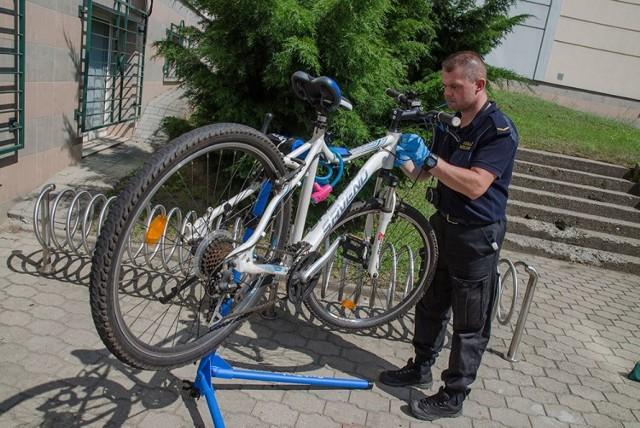 Jak zapewniają w Straży Miejskiej, rowery oznaczone syntetycznym DNA są w znacznym stopniu chronione przed kradzieżą.