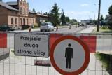 Rozpoczęła się przebudowa ulicy Wojska Polskiego w Świeciu. Kierowcy muszą być cierpliwi. Zobacz zdjęcia