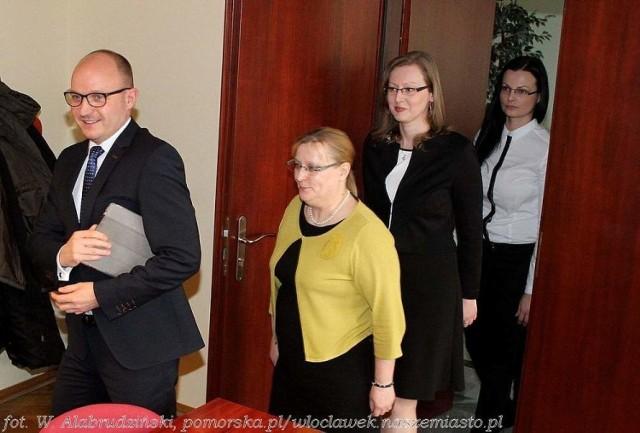 Prezydent ze swoimi zastępczyniami
