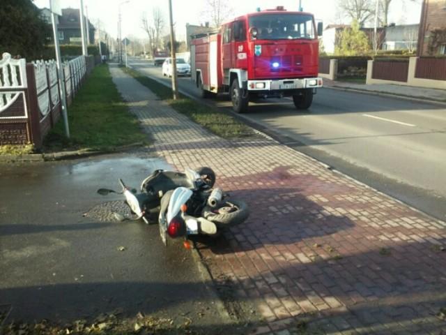 Groźny wypadek w Wieszowej