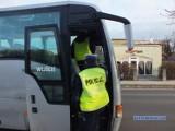 Na drogach trwa policyjna akcja kontroli autobusów i busów