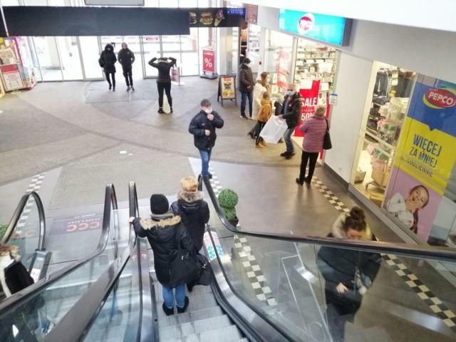 Od 1 lutego znów działa większość sklepów w galerii Mini Park w Goleniowie
