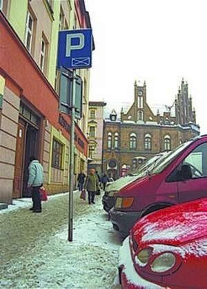 Na szesnastu parkingachw centrum miasta zmieści się 500 pojazdów. SYLWESTER WITKOWSKI