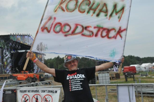 Andrzej Majsak z Gorzowa pokochał Woodstock 13 lat temu.