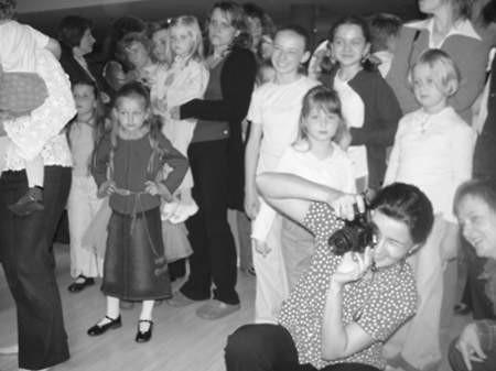 Chętnych nie brakowało, a na castingu pojawiło się ponad 150 dzieci.