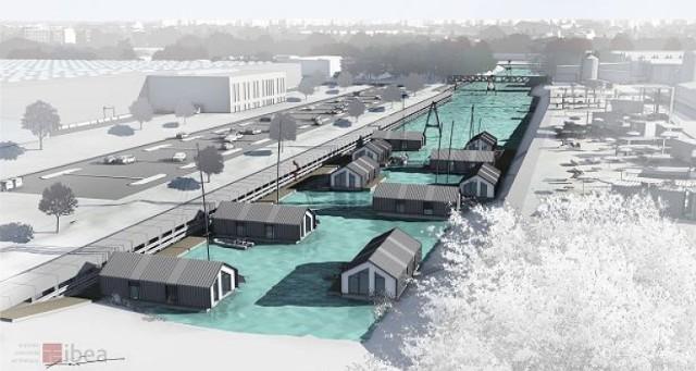 W Warszawie powstaje osiedle na wodzie. Będzie dużo taniej niż w standardowym mieszkaniu
