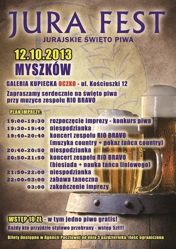 Jurajskie Święto Piwa w Myszkowie
