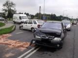 Spoza miasta: Wypadek w Pobiedziskach - 2 osoby ranne