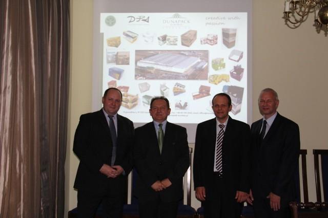 Przedstawiciele firmy Eurobox prezentowali swoje plany podczas majowej sesji Rady Miasta