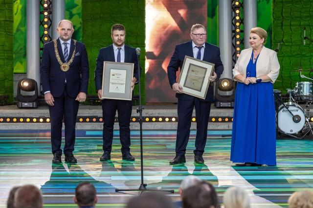 Zdjęcia z gali wręczenia Nagród Marszałka Województwa Kujawsko - Pomorskiego 2021.