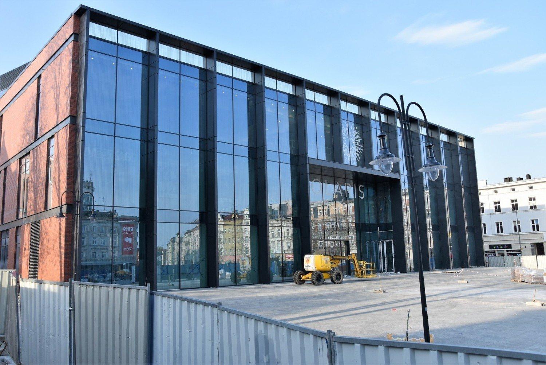 f5fb6e28 Otwarcie galerii Solaris po rozbudowie pierwotnie planowano na 16 kwietnia.  O takim terminie informowały też