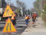 Kutnowscy kierowcy narzekają na modernizowaną ulicę Przemysłową (Zdjęcia)
