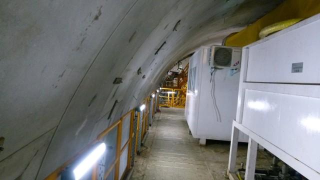 Tunel w Świnoujściu dłuższy. Wyspiarka już drąży w gruncie. Łącznie ułożyła już 32 ringi